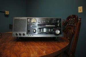 Sony ICF-6800W AM FM SW MW Multiband Dual Conversion Receiver Radio Shortwave