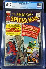 Amazing Spider-man #18, cgc 6.5, silver age, 1964, new slab