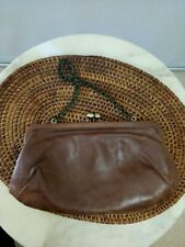 Fossil Brown Handbag Genuine Leather