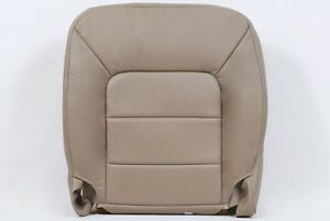 2003 04 05 06 Ford expedition Driver bottom Leather seat cover Tan Perforated