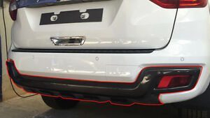 REAR BUMPER COVER FOR ALL NEW FORD EVEREST ENDEAVOUR 2015 - 2017
