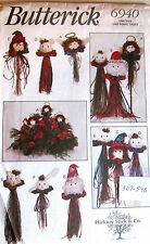 Buttereick - Hickory Stick & Co Xmas Doll Head Patterns
