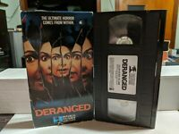 DERANGED VHS REPUBLIC PICTURES HOME VIDEO HORROR