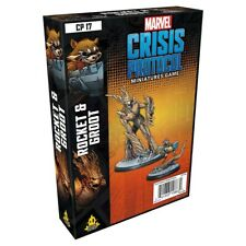Marvel Crisis Protocol Miniatures Game Rocket and Groot Expansion