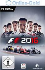 F1 2016 - Steam Download Code - PC Standard Version Formel 1 16 Neu [PC][DE][EU]