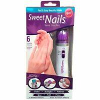 Manucure Pédicure Électrique avec 3 têtes Sweet Nails