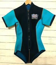 """Bluewater 1/8"""" thick Neoprene wetsuit - Women's Large Front zip Scuba Surf"""