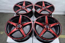 "17"" Wheels Fit Accord Civic Optima Elantra Jetta Corolla Camry Black Red Rims"
