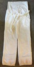 Cotton Blend Maternity 30L Trousers
