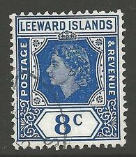 Elizabeth II (1952-Now) Used Leeward Islands Stamps