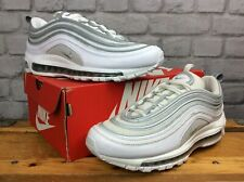 NIKE MENS UK 8 EU 42.5 AIR MAX 97 WHITE SILVER WOLF GREY TRAINERS RRP £145   EP