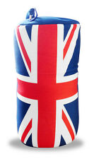 Travel Neck Back Rest Cyclinder Pillow Cushion British Union Jack