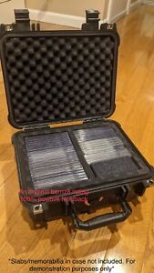 Graded Card Slab Storage Travel Case IP65 Waterproof PSA BGS SGC One-Touch NEW