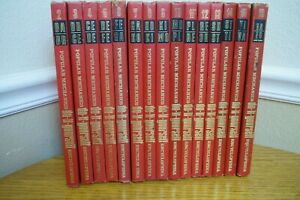 Popular Mechanics do-it-yourself Encyclopedia Volumes 2-16 Hardcover