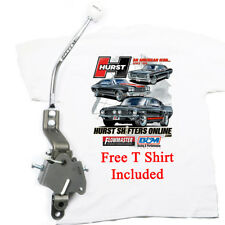 Hurst 4 Speed Shifter with ROUND BAR Handle 1969 Camaro SS Z28 5325 FREE T SHIRT