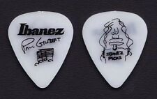 Mr. Big Paul Gilbert Signature White Ibanez Guitar Pick 1990s Tours