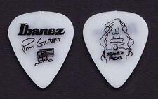 Mr. Big Paul Gilbert Signature White Ibanez Guitar Pick 1990s Tours