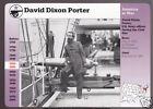 DAVID DIXON PORTER U.S. Navy Civil War Photo GROLIER STORY OF AMERICA CARD