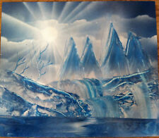 One of a Kind Original Painting Arctic Day