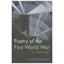 Oxford World's Classics: Poetry of the First World War 2013 Hardcover NEW