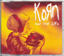 Korn Got the Life Australia CD Single