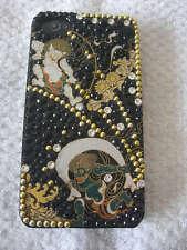 IPHONE 4/4S SWAROVSKI CASE/JACKET JAPAN HAND MADE WAGARA FUJIN & RAIJIN UNISEX