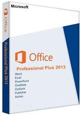Microsoft Office 2013 Professional Plus 1 PC 32&64 Bit Deutsch Sofort Versand