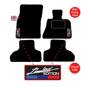 BMW X4 SINGLE DRIVERS CAR MAT TAILORED FULLY 14 on 2 Clip