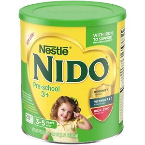 Nido 3 Plus Powdered Milk Beverage 1.76 Lb Canisters
