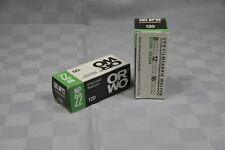 pellicola ORWO NP22 125ASA b/w formato film 120