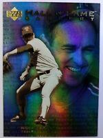 2001 01 Upper Deck Hall of Fame Gallery Nolan Ryan #G10, Texas Rangers, HOF