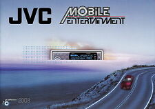 Katalog JVC 2003 Gesamtkatalog Mobile Entertainment CD Wechsler 3DHL SH Navi