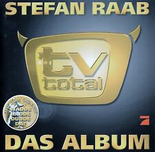 STEFAN RAAB : TV TOTAL - DAS ALBUM / CD - TOP-ZUSTAND