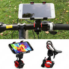 Universel Support Vélo Bike Bicycle Moto Guidon Mount pr Téléphone iphone GPS LG