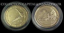 Finlande 2€ commémorative Dorée 2011 Banque Finlandaise vendu sous capsule
