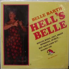 Belle Barth Hell's Belle A-115 Laff Records w/ shrink wrap  010717LLE
