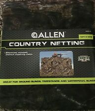 Allen Country Netting 12 foot X 56 inches- NEW- Camouflage-Hunting-Blinds-Lot 2