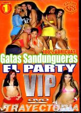 GATAS SANDUNGUERAS - REGUETON DVD - REGGAETON SEX -  EL PARTY VIP