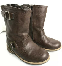 Target  Xhilaration Kids size 11 Brown boots  Leather