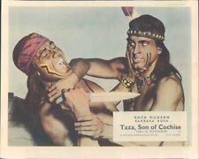 Taza Fils De Cochise Original Lobby Carte Rock Hudson Barechested Rex Reason