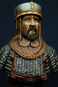 Tancredi Re di Sicilia  - Busto Aitna Model dipinto a mano