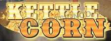 1.5'X4' KETTLE CORN BANNER Outdoor Sign Fair Concession Hot Fresh Sweet Popcorn