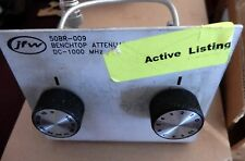 JFW 50BR-009 Benchtop Attenuator DC-1000 MHz **FREE SHIPPING USA**