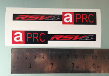 APRC RSV4 Stickers Decals for Aprilia RSV4 Front Fairing (NEW MODEL DESIGN)