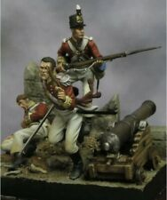 1:32 British Soldiers (3 Figures) Model Kit Unassembled Unpainted