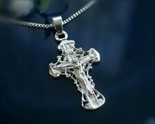 Kreuz Anhänger Silber 925 Kommunion Taufe Sterlingsilber Herren sh63