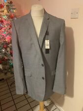 "Grey Primark Suit Jacket 44"" NWT"