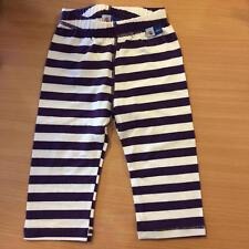 MOLO KIDS purple striped baby pants trousers leggings, 74 6-9m BNWOT