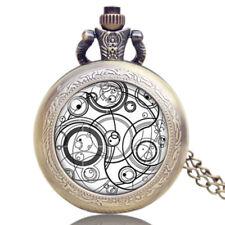 Dr Doctor Who Design Pocket Watch Necklace Vintage Necklace Pendant Wholesale