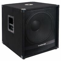 """Sound Town METIS 2400W 18"""" Powered Subwoofer w/ Class-D Amplifier METIS-18SDPW"""